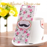 Carcasa Plastic iPhone 6 Plus (5.5) Moustache